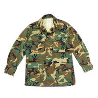 1970s RDF Fatigue Jacket ERDL Camo S-S