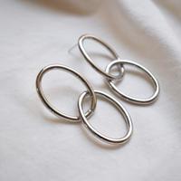 sv021/p215 silver925  ring design swing pierce