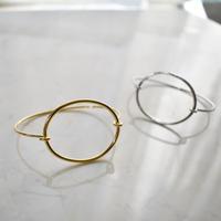 circle / oval bangle