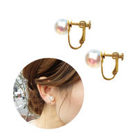 e083  miracle pearl earring / pierce S