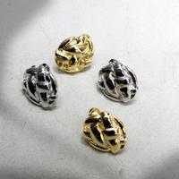 e120 metal mesh earring