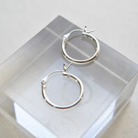 sv026uk043 silver925 simple hoop pierce  L