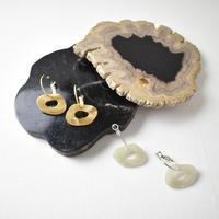 p226 scrylic +metal hoop pierce