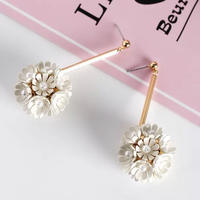 flower Perl pierce
