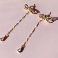 ribbon chain drop pierce