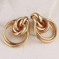 hoop big gold pierce