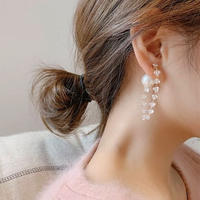 clear pearl catch  pierce