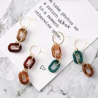 marble acryl chain pierce