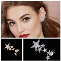 star ear cuff pierce