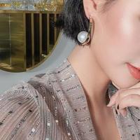 big perl hoop pierce