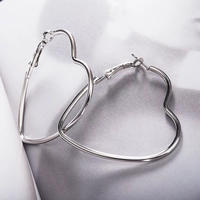 heart hoop pierce