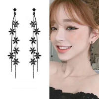 flower long  pierce
