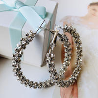 stone hoop pierce