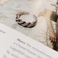 silver925 twist ring