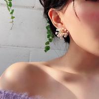 baby's-breath Pearl pierce