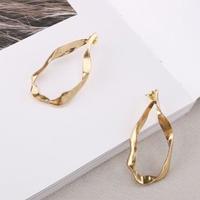 vintage metal gold pierce