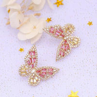 butterfly cute pierce