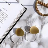 mat gold × clear pierce