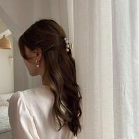 clear pearl hair clip 4
