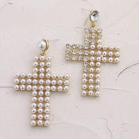 pearl cross  pierce