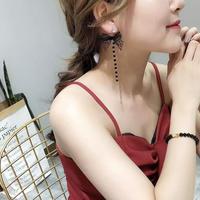 dot ribbon chain 2way pierce