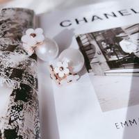 flower Pearl catch  pierce