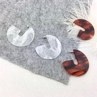 clear marble hoop pierce