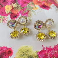 double stone × pearl  pierce