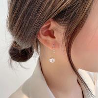 pearl stone  chain pierce