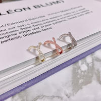 cross  ear cuff