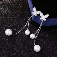 butterfly pearl 2way pierce