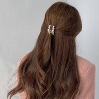 clear pearl hair clip 3