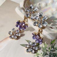 spring flower long pierce