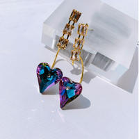 purple heart stone pierce