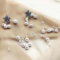 star drop pearl pierce