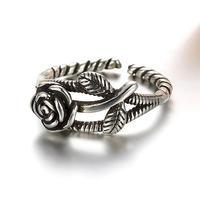 silver925 rose ring