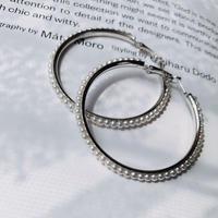 pearl hoop pierce