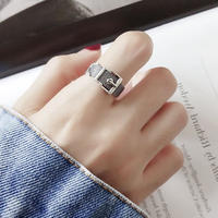 silver925 belt ring