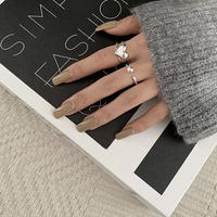 silver925 heart ring
