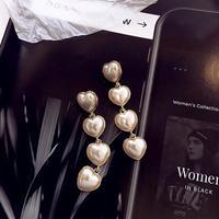 pearl heart long pierce