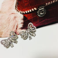 ribbon shine stone pierce