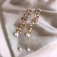 star  pearl long pierce