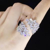square stone wreathe ring