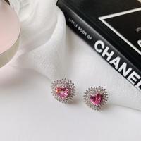 pink heart pierce