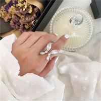 butterfly stone open ring