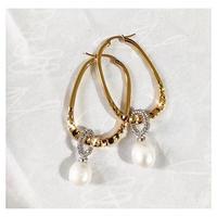 fresh water pearl pierce