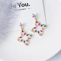colorful flower stone pierce