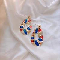 colorful metal  pierce/earring