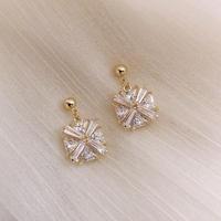 crystal flower pierce