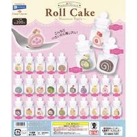 《ドリームカプセル限定》超リアル!ミニチュアボトル ロールケーキ 全28種セット